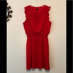 GAP Orange Sleeveless Summer Dress